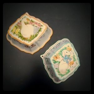 The Franklin Mint Le Cordon Bleu Jelly Molds 1986